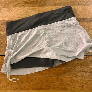 Patagonia Gray Tennis/Hiking/Running Skort